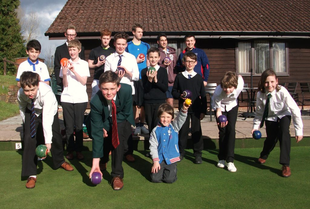 The Berkhamsted Bowls Club juniors are getting ready for the challenge of a new season